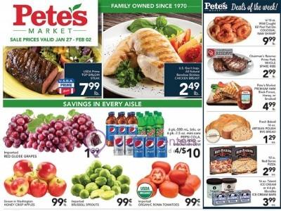 Pete's Fresh Market (Special Offer - Willowbrook) Flyer