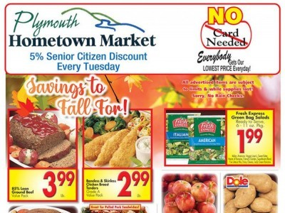 Plymouth Hometown Market (Savings To Fall For) Flyer