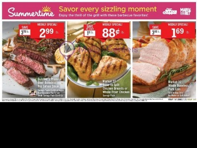Price Chopper (Savor Every Sizzling Moment) Flyer