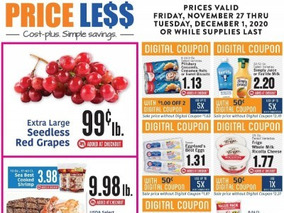 Price Less Foods (Special Offer) Flyer