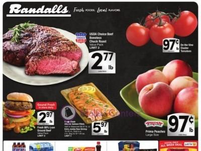 Randalls (Special Offer) Flyer