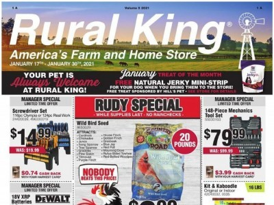 Rural King (America's Farm And Home Store) Flyer