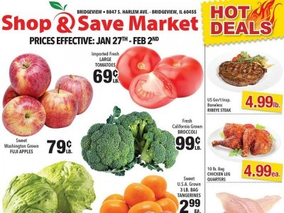 Shop and Save Market (Special Offer - Bridgeview) Flyer