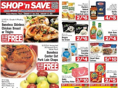 SHOP 'n SAVE (Special Offer - PA) Flyer