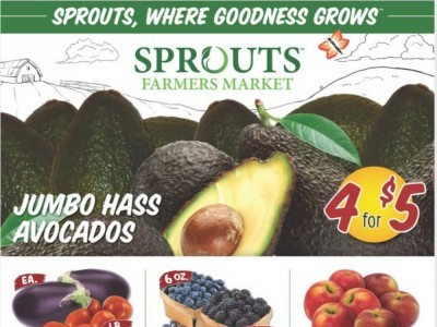 Sprouts Farmers Market (Weekly Specials) Flyer