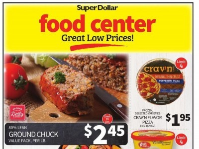 SuperDollar Food Center (Great low Prices) Flyer