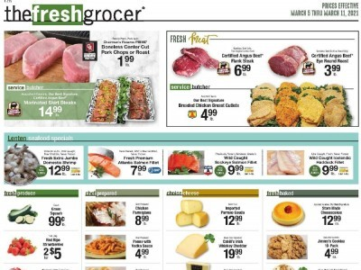 The Fresh Grocer (Special Offer) Flyer