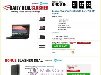 Tiger Direct (Deal Of The Day) Flyer
