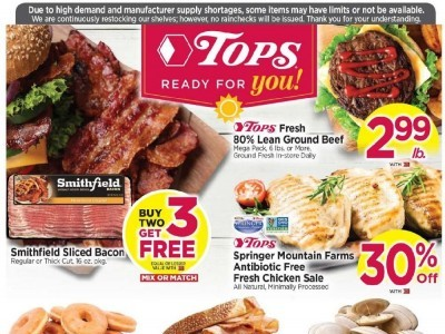 Tops Markets (Special Offer - PA) Flyer