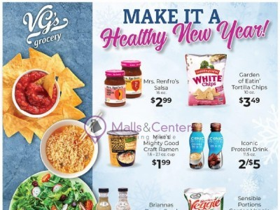 VG's Grocery (Make It A Healthy New Year) Flyer