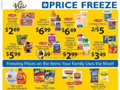 VG's Grocery (Price Freeze) Flyer