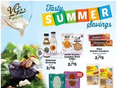 VG's Grocery (Tasty Summer Savings) Flyer