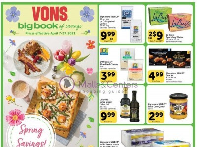 Vons (Big Book of Savings) Flyer