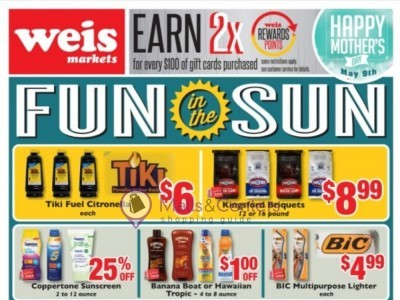 Weis Markets (Monthly deals) Flyer