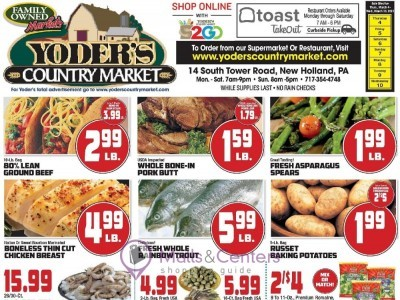 Yoder's Country Market (Special Offer) Flyer