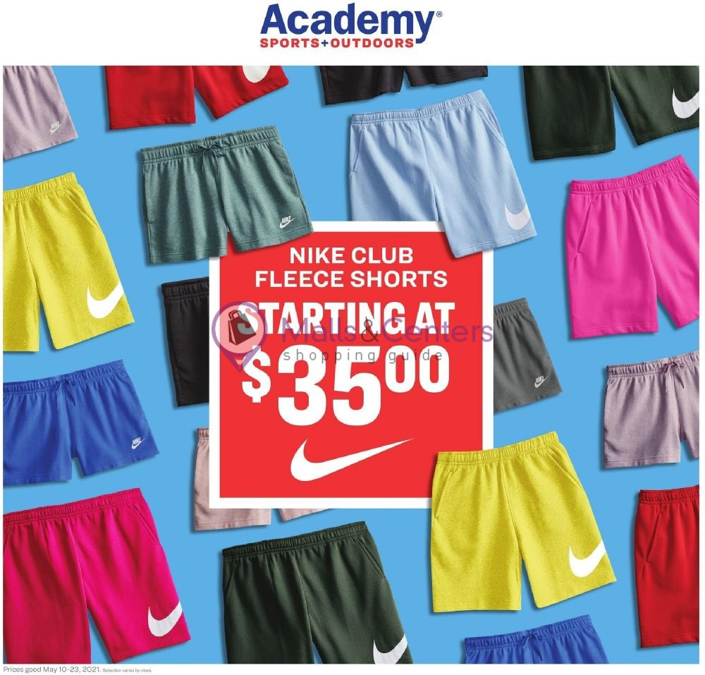 weekly ads Academy Sports + Outdoors - page 1 - mallscenters.com