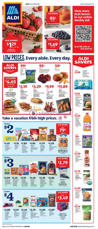 weekly ads ALDI - page 1 - mallscenters.com