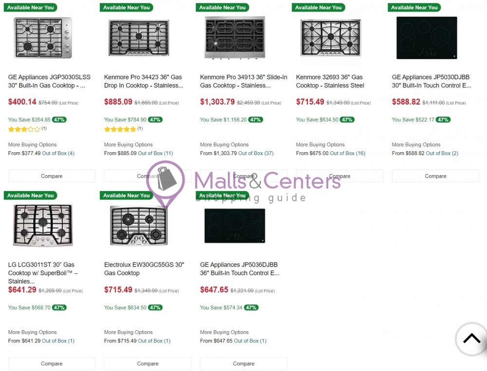 weekly ad American Freight - page 1 - mallscenters.com