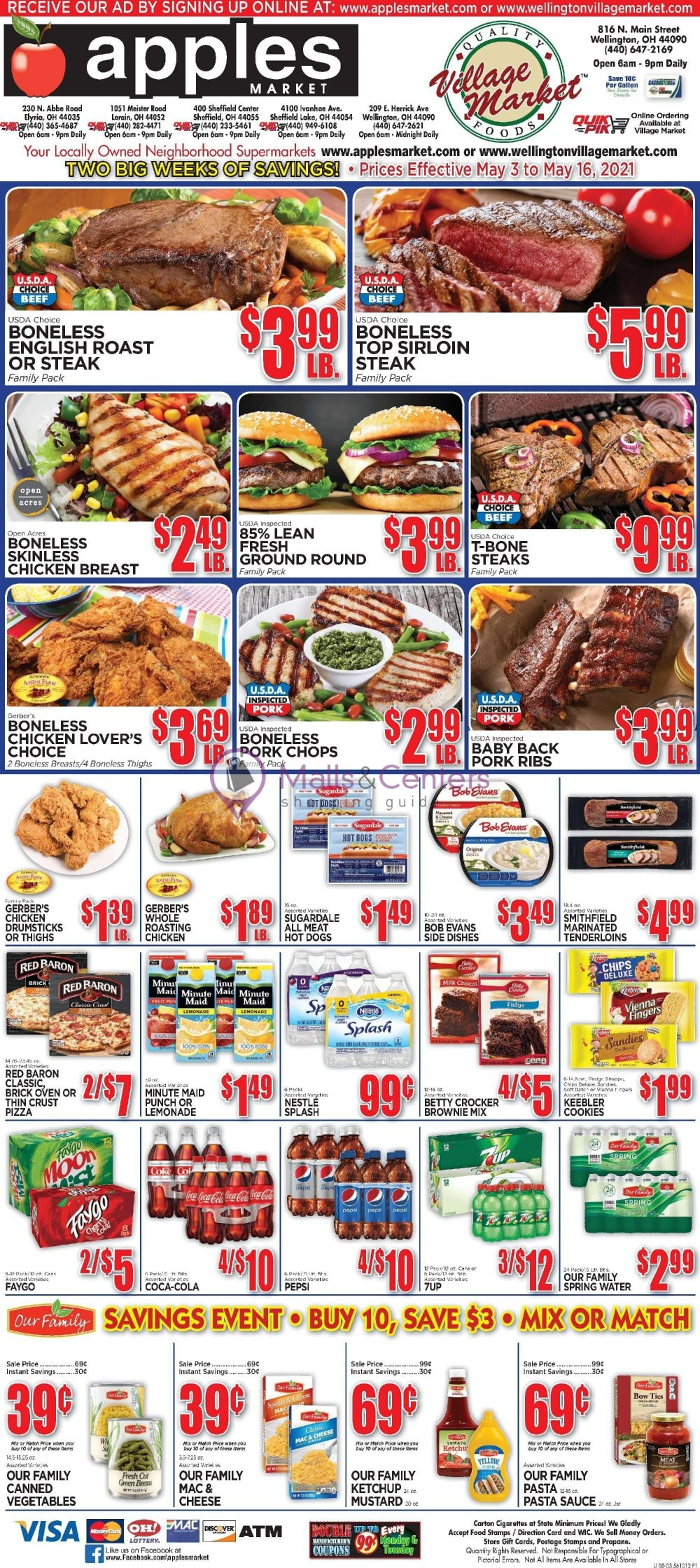 weekly ads Apples Market - page 1 - mallscenters.com