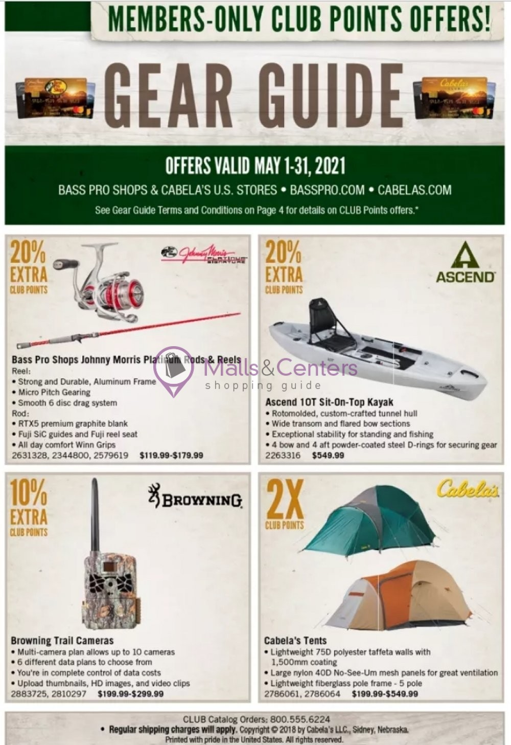 weekly ads Bass Pro Shops - page 1 - mallscenters.com
