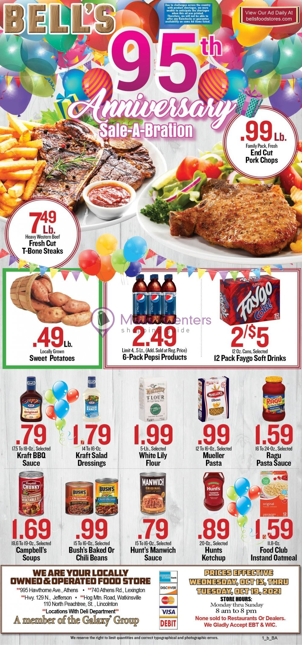 weekly ads Bell's Food Stores - page 1 - mallscenters.com