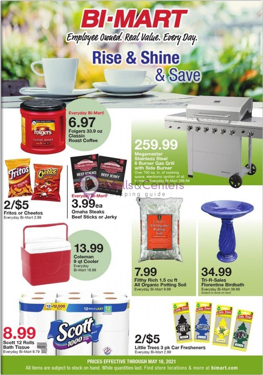 weekly ads Bi-Mart - page 1 - mallscenters.com
