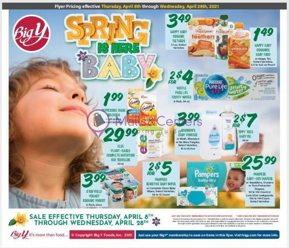 weekly ads Big Y - page 1 - mallscenters.com