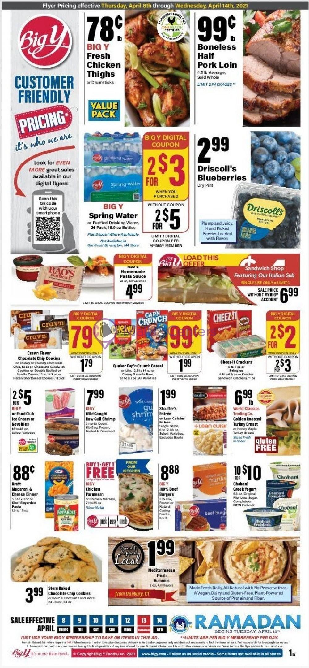 weekly ad Big Y - page 1 - mallscenters.com