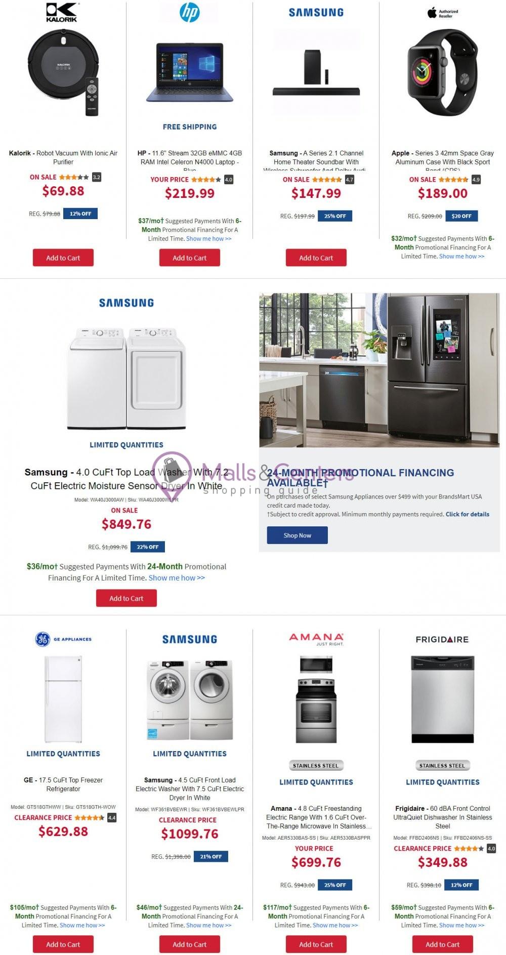 weekly ads BrandsMart USA - page 1 - mallscenters.com