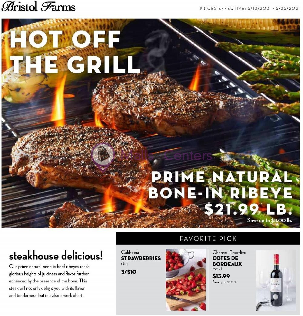 weekly ads Bristol Farms - page 1 - mallscenters.com