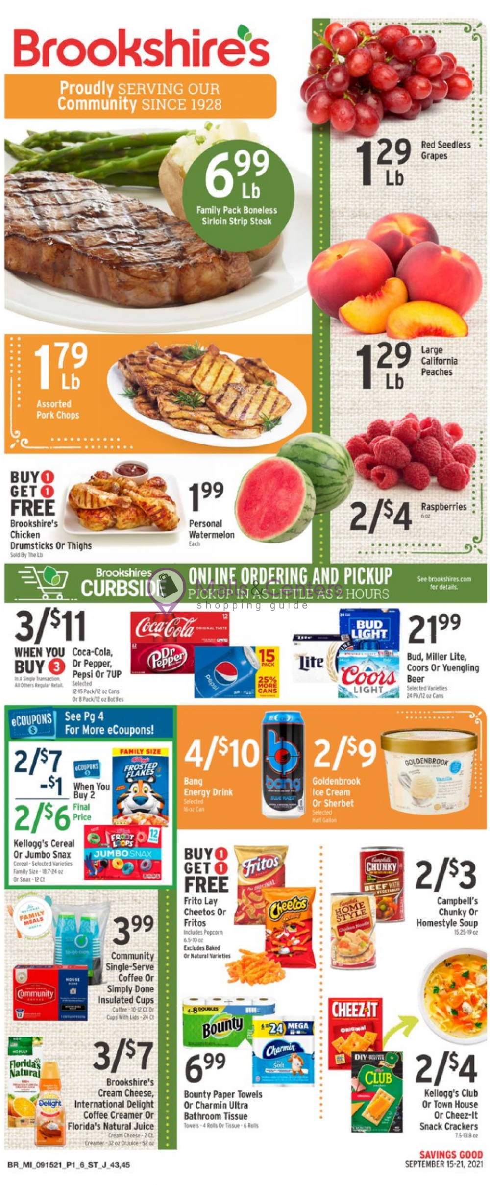 weekly ads Brookshire's Food & Pharmacy - page 1 - mallscenters.com