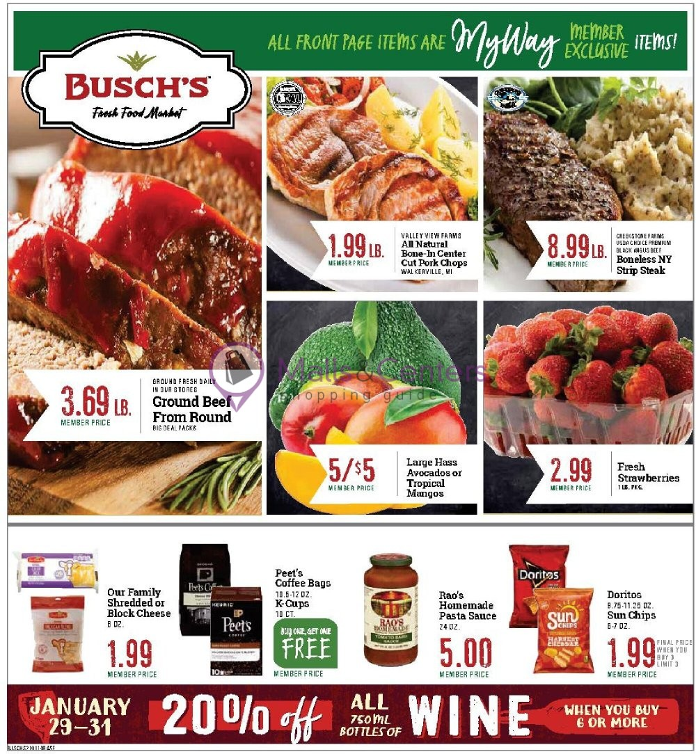 weekly ads Busch's Fresh Food Market - page 1 - mallscenters.com