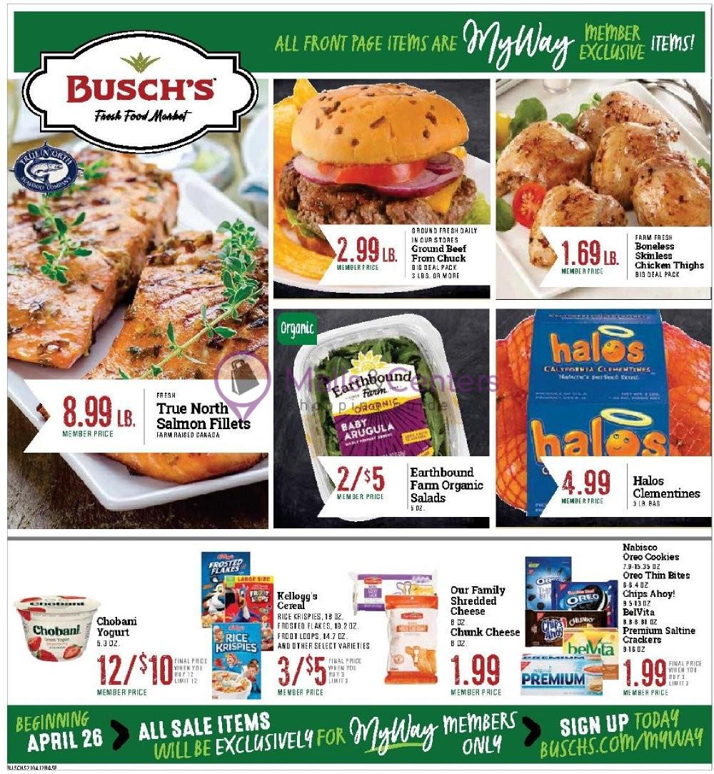 weekly ads Busch's Fresh Food Market - page 1 - mallscenters.com