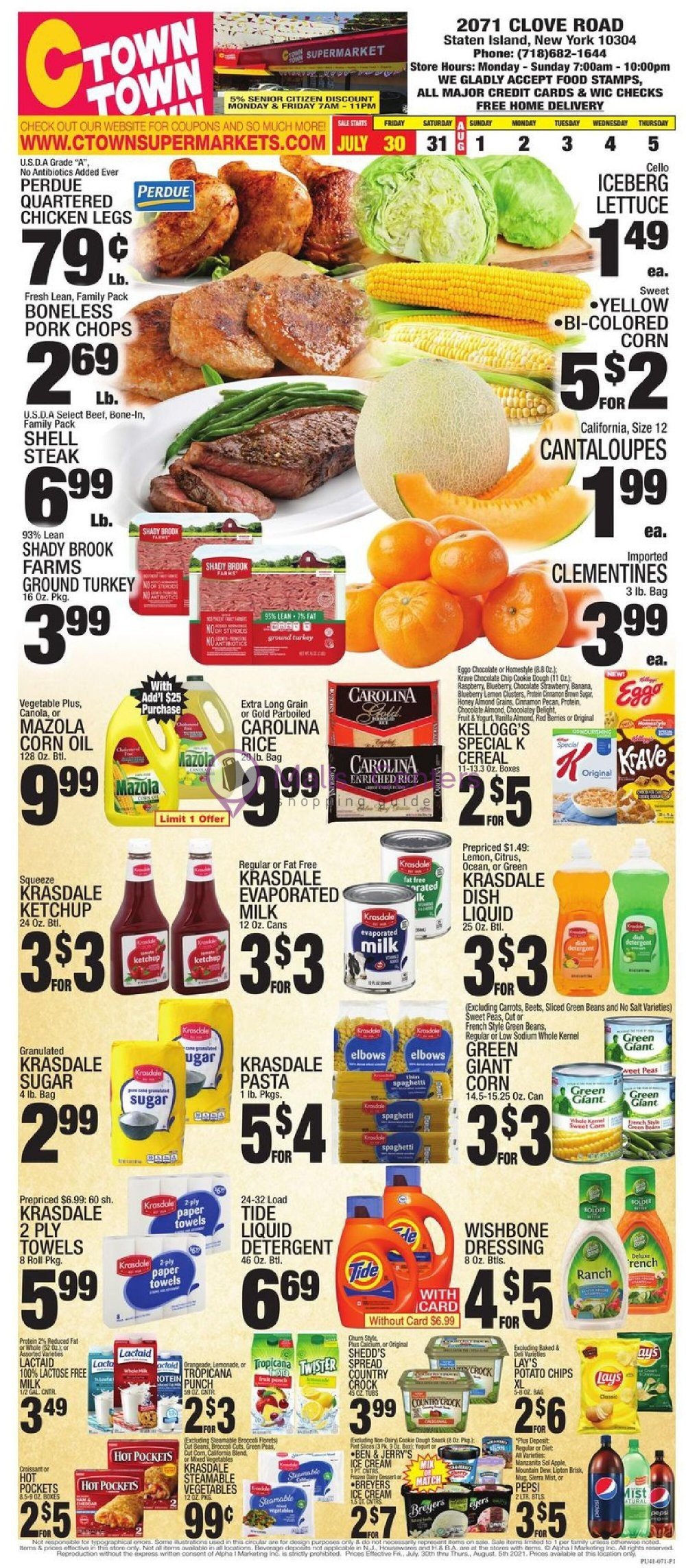 weekly ads C-Town Supermarkets - page 1 - mallscenters.com