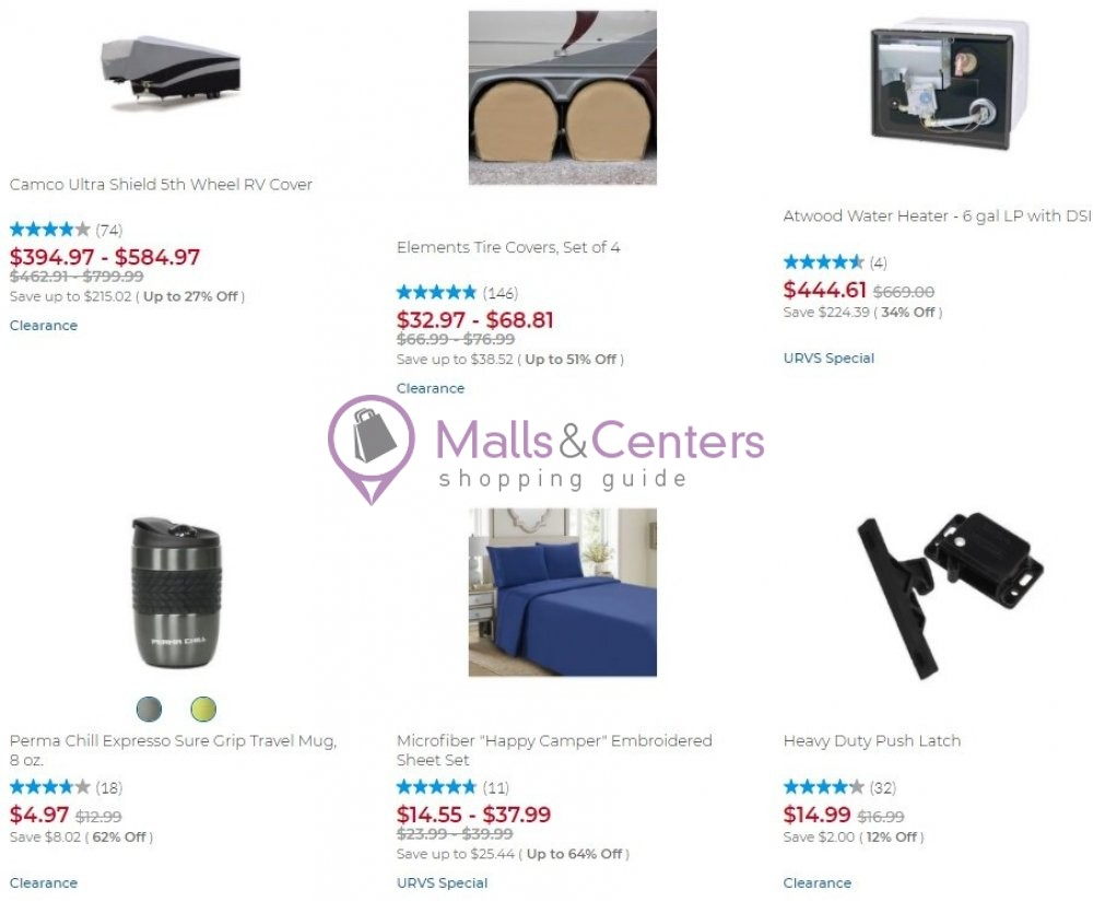 weekly ads Camping World - page 1 - mallscenters.com