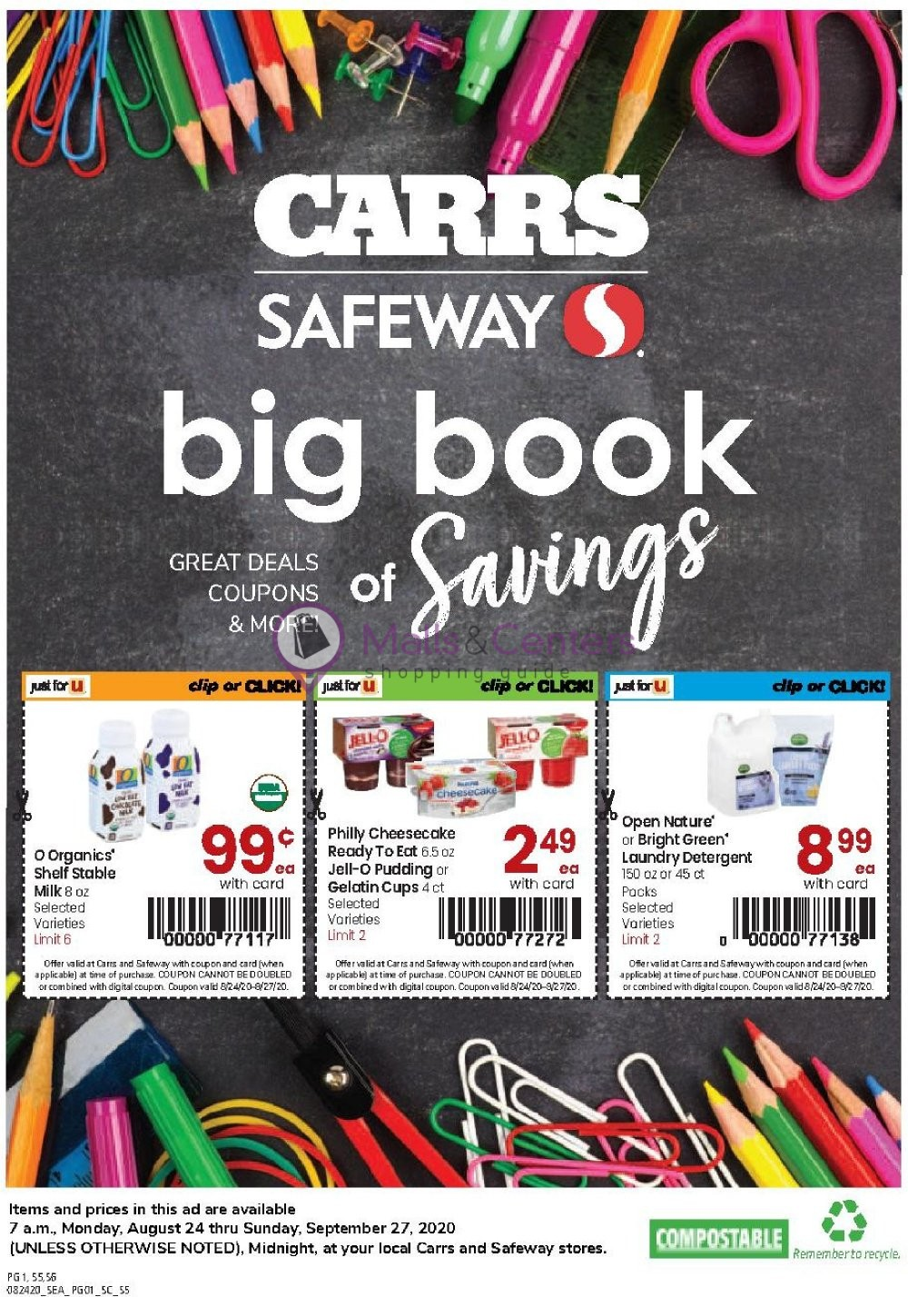 weekly ads Carrs - page 1 - mallscenters.com