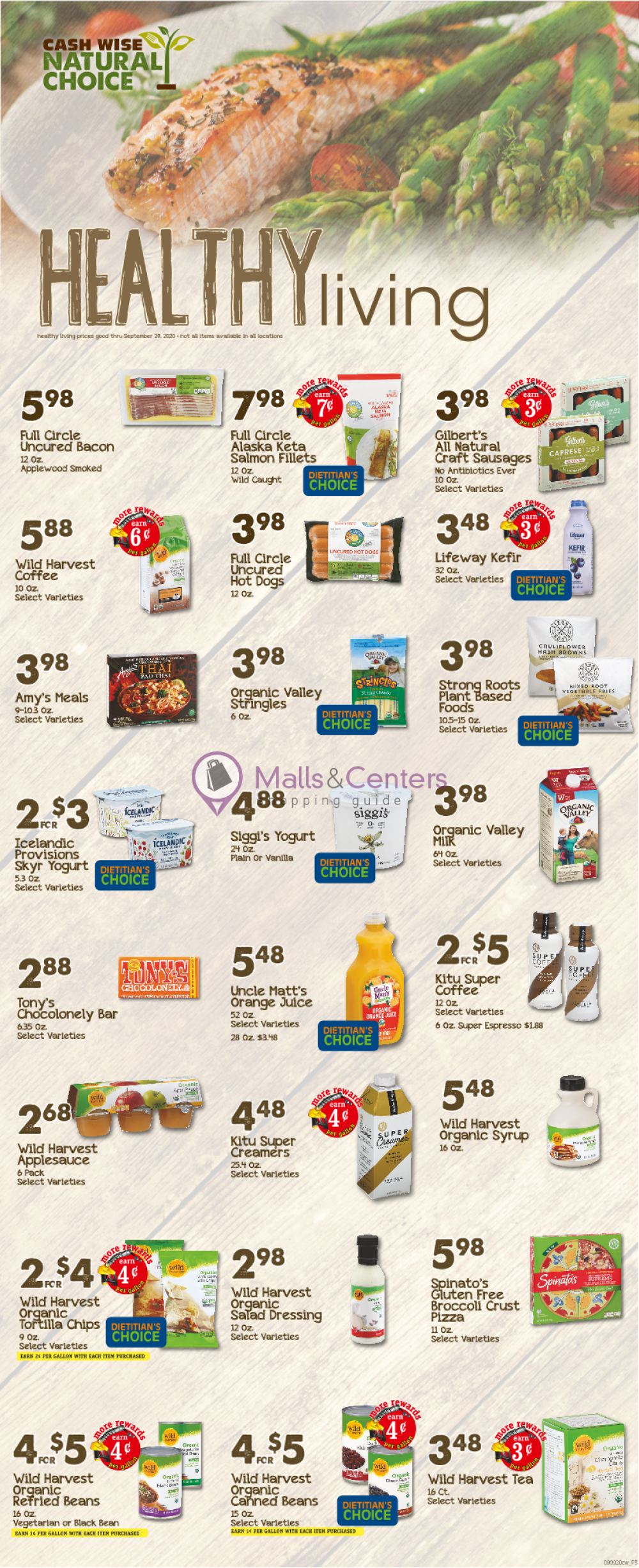 weekly ads Cash Wise - page 1 - mallscenters.com