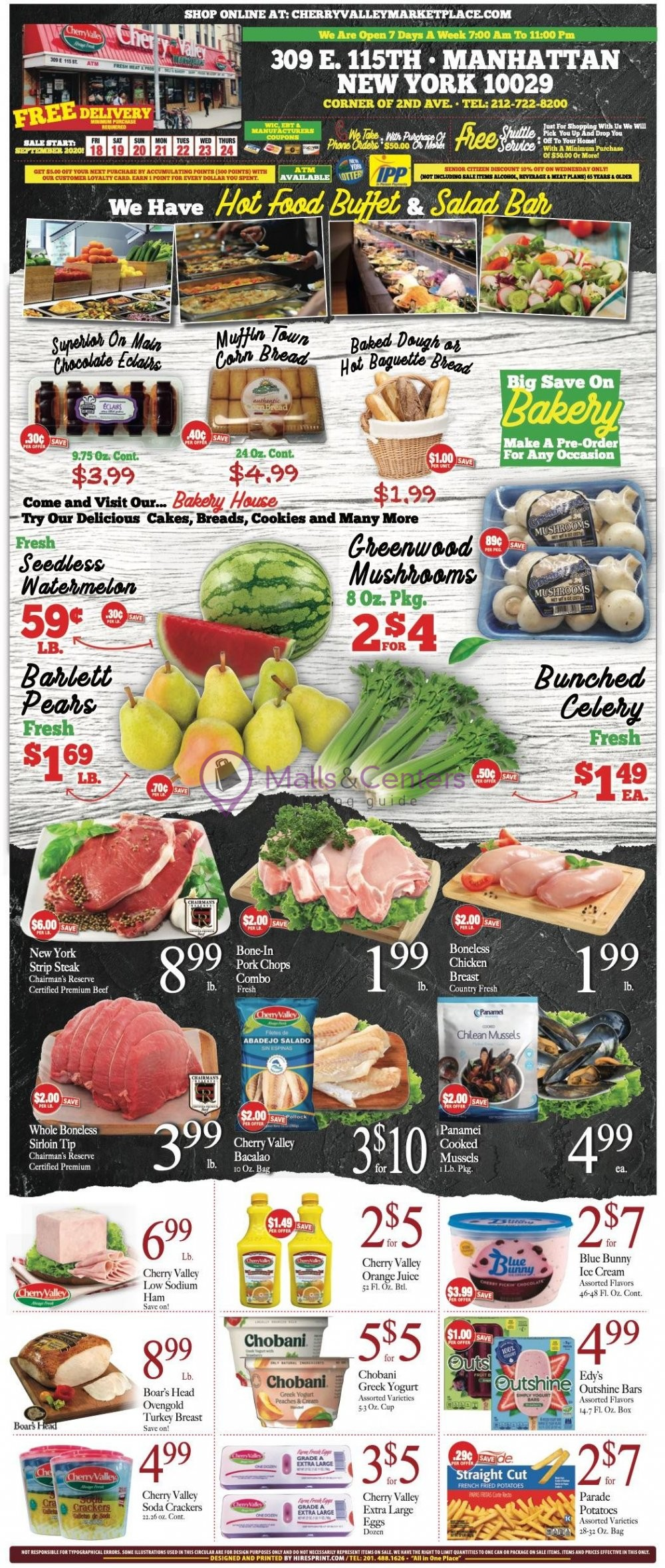 weekly ads Cherry Valley Marketplace - page 1 - mallscenters.com