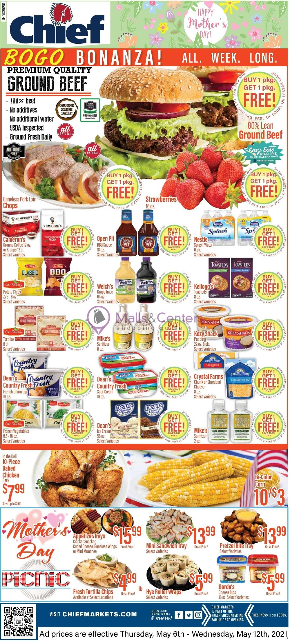 weekly ads Chief Supermarket - page 1 - mallscenters.com