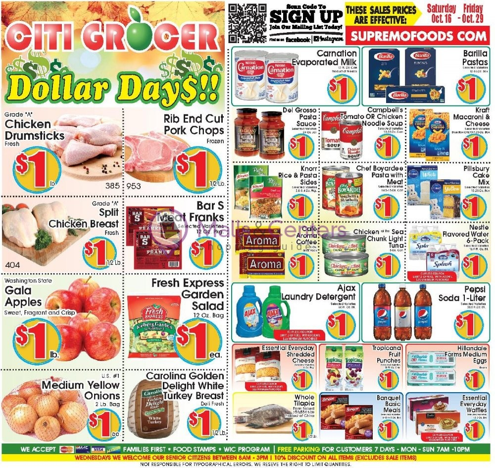 weekly ads City Grocer - page 1 - mallscenters.com