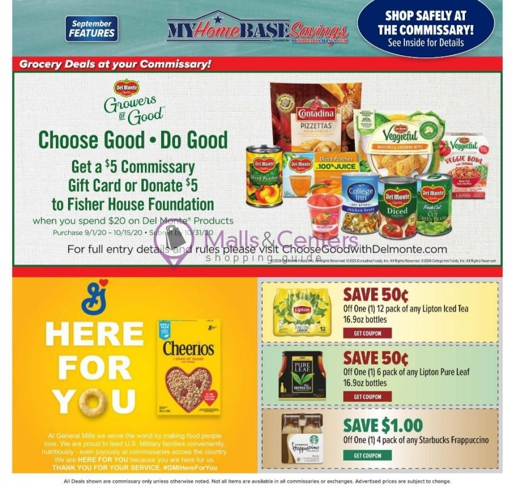 weekly ads Commissary - page 1 - mallscenters.com