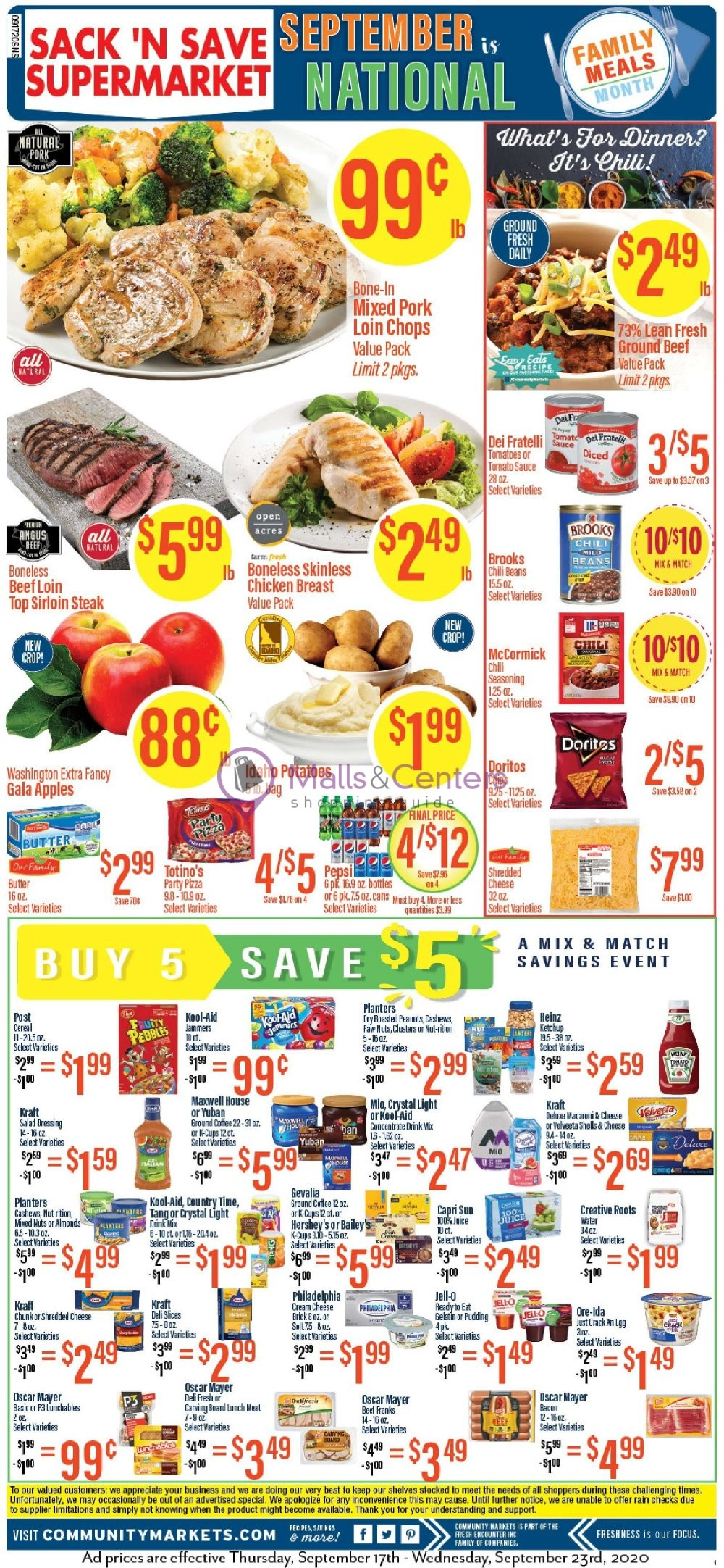 weekly ads Community Markets - page 1 - mallscenters.com