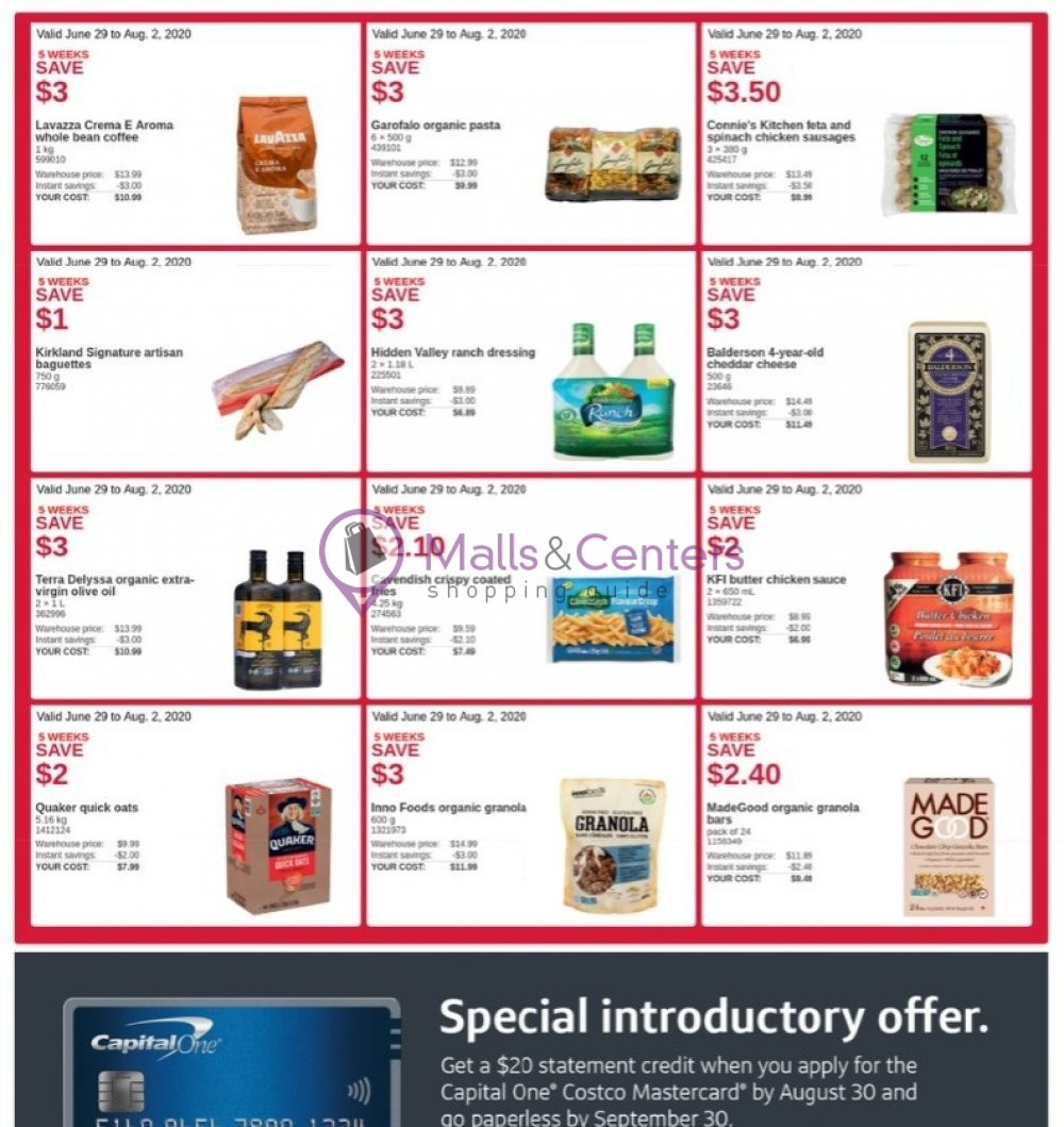 weekly ads Costco - page 1 - mallscenters.com