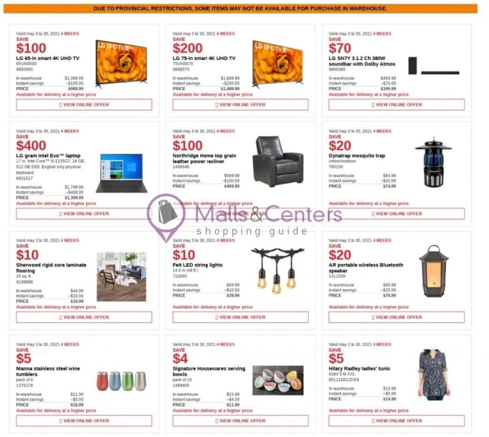 weekly ads Costco - page 1 - mallscenters.com