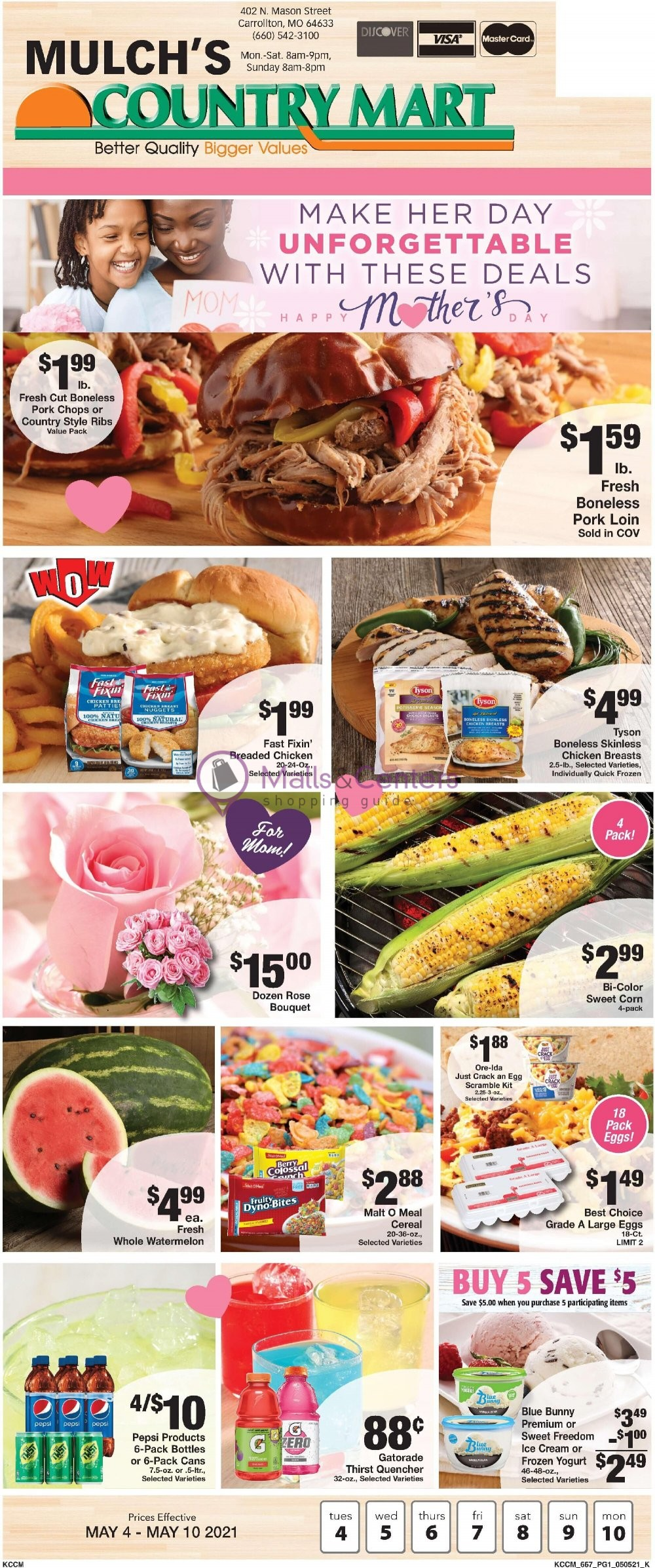 weekly ads Country Mart - page 1 - mallscenters.com