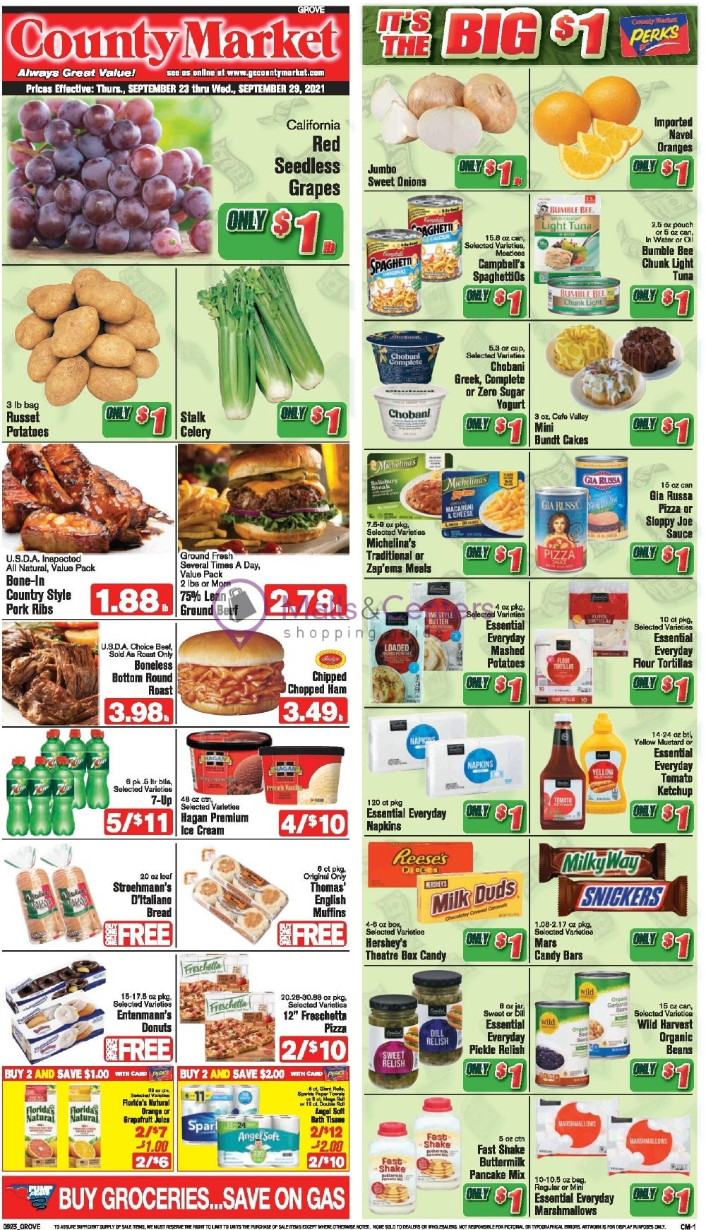 weekly ads County Market Grove City - page 1 - mallscenters.com