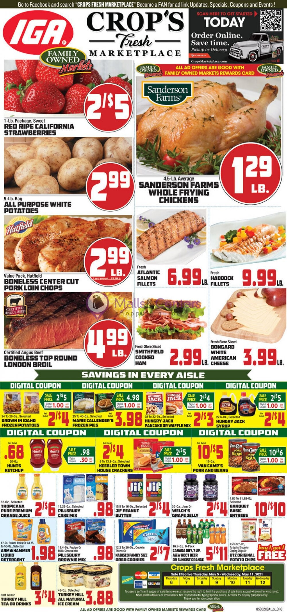 weekly ads Crops Fresh Marketplace - page 1 - mallscenters.com