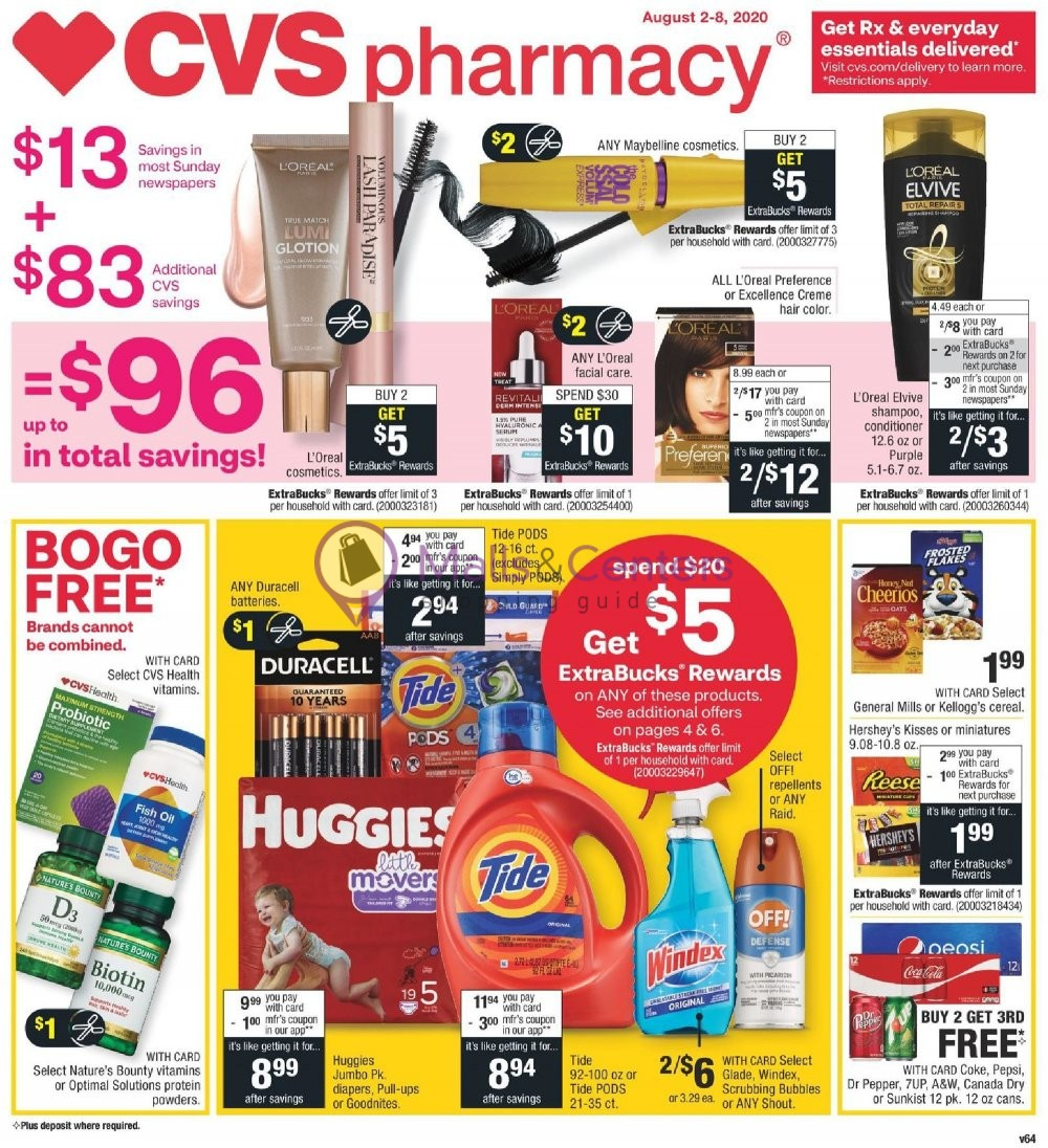 weekly ads CVS Pharmacy - page 1 - mallscenters.com