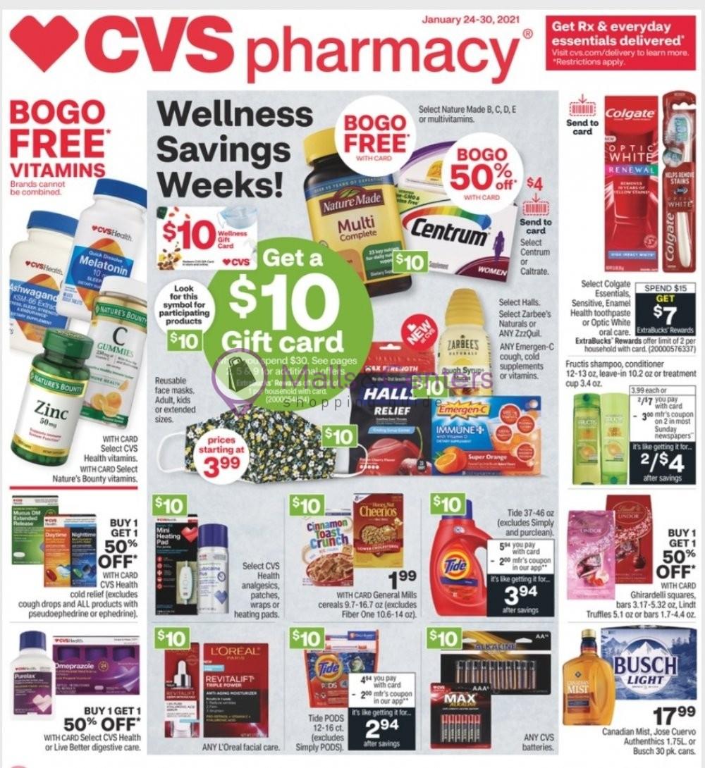 weekly ads CVS Pharmacy - page 1 - mallscenters.com