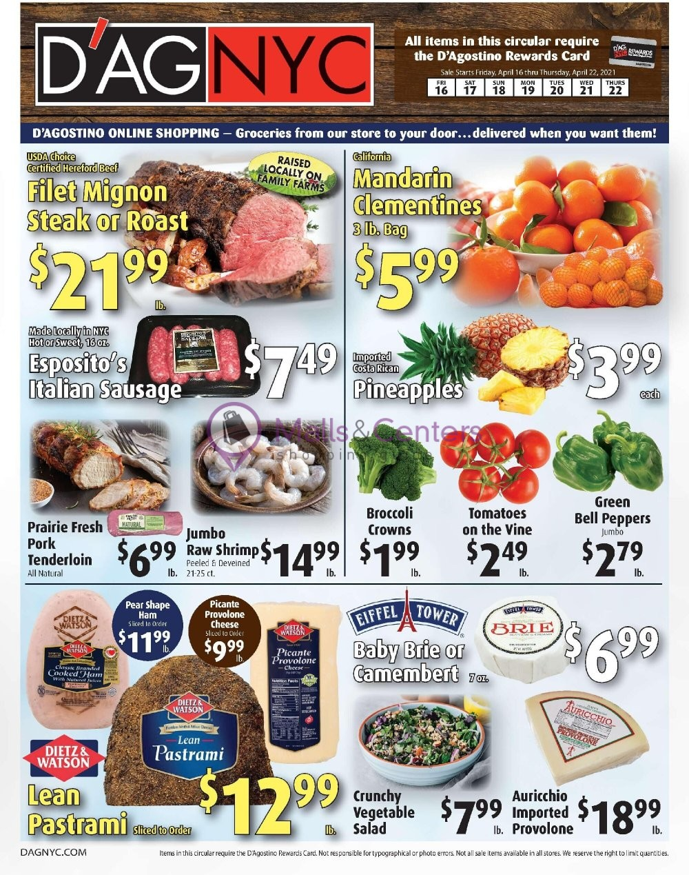 weekly ads D'Agostino - page 1 - mallscenters.com